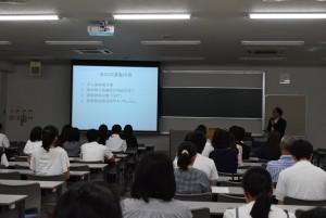 OC16放射模擬講義の様子