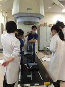 群大病院での実験
